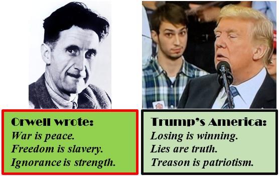 Trump Orwell 2